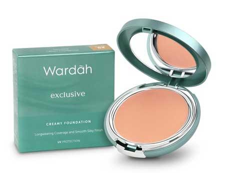 Produk Kosmetik Wardah Lengkap Dengan Harganya - Exclusive Creamy Foundation