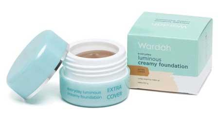 Produk Kosmetik Wardah Lengkap Dengan Harganya - Luminous Creamy Foundation Extra Cover