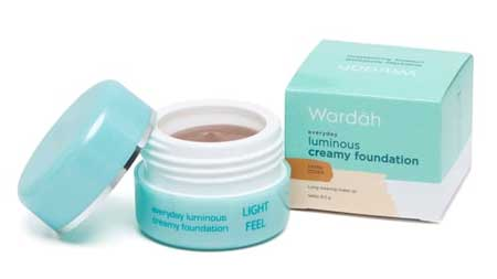 Produk Kosmetik Wardah Lengkap Dengan Harganya - Luminous Creamy Foundation
