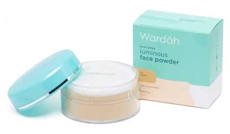 Produk Kosmetik Wardah Lengkap Dengan Harganya - Luminous Face Powder