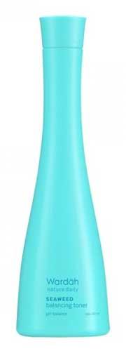 Produk Kosmetik Wardah Lengkap Dengan Harganya - Nature Daily Seaweed Balancing Toner