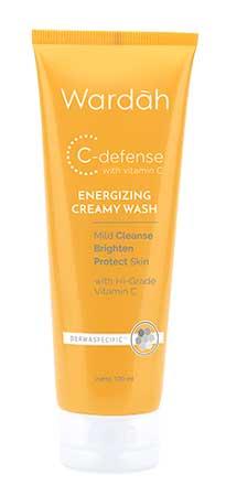 Produk Kosmetik Wardah Lengkap Dengan Harganya - Wardah C-Defense Energizing Creamy Wash