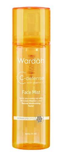 Produk Kosmetik Wardah Lengkap Dengan Harganya - Wardah C-Defense Face Mist