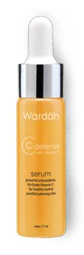Produk Kosmetik Wardah Lengkap Dengan Harganya - Wardah C-Defense Serum