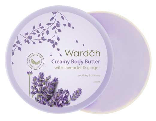 Produk Kosmetik Wardah Lengkap Dengan Harganya - Wardah Creamy Body Butter Lavender & Ginger