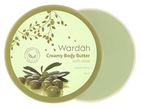 Produk Kosmetik Wardah Lengkap Dengan Harganya - Wardah Creamy Body Butter Olive