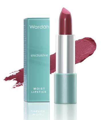 Produk Kosmetik Wardah Lengkap Dengan Harganya - Wardah Exclusive Moist Lipstick