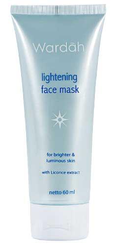Produk Kosmetik Wardah Lengkap Dengan Harganya - Wardah Lightening Face Mask
