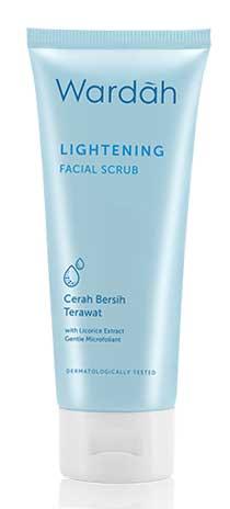 Produk Kosmetik Wardah Lengkap Dengan Harganya - Wardah Lightening Facial Scrub