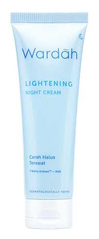 Produk Kosmetik Wardah Lengkap Dengan Harganya - Wardah Lightening Night Cream