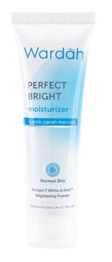 Produk Kosmetik Wardah Lengkap Dengan Harganya - Wardah Perfect Bright Moisturizer Normal Skin