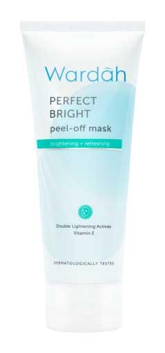 Produk Kosmetik Wardah Lengkap Dengan Harganya - Wardah Perfect Bright Peel Off Mask