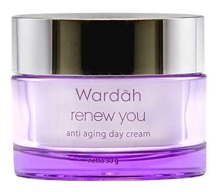 Produk Kosmetik Wardah Lengkap Dengan Harganya - Wardah Renew You Anti Aging Day Cream