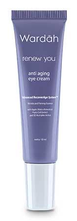 Produk Kosmetik Wardah Lengkap Dengan Harganya - Wardah Renew You Anti Aging Eye Cream