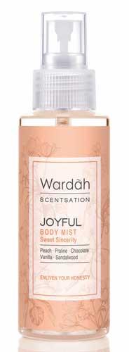 Produk Kosmetik Wardah Lengkap Dengan Harganya - Wardah Scentsation Body Mist Joyful