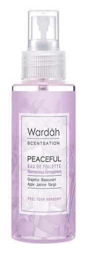 Produk Kosmetik Wardah Lengkap Dengan Harganya - Wardah Scentsation Body Mist Peaceful