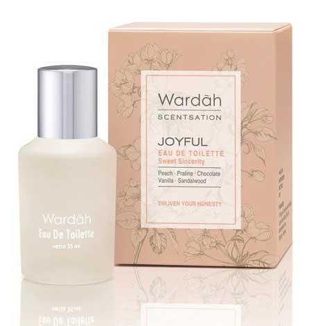 Produk Kosmetik Wardah Lengkap Dengan Harganya - Wardah Scentsation Eau de Toilette Joyful