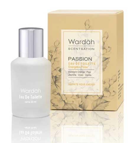 Produk Kosmetik Wardah Lengkap Dengan Harganya - Wardah Scentsation Eau de Toilette Passion