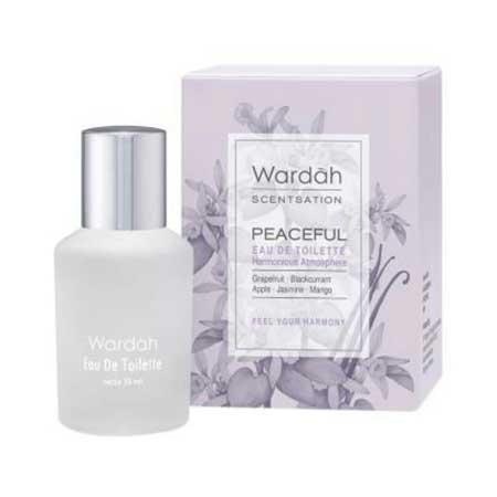 Produk Kosmetik Wardah Lengkap Dengan Harganya - Wardah Scentsation Eau de Toilette Peaceful