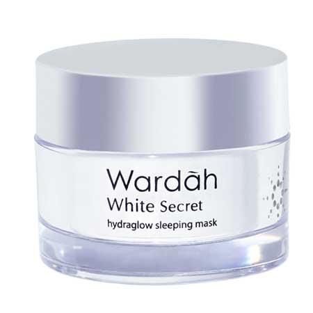Produk Kosmetik Wardah Lengkap Dengan Harganya - Wardah White Secret Hydraglow Sleeping Mask