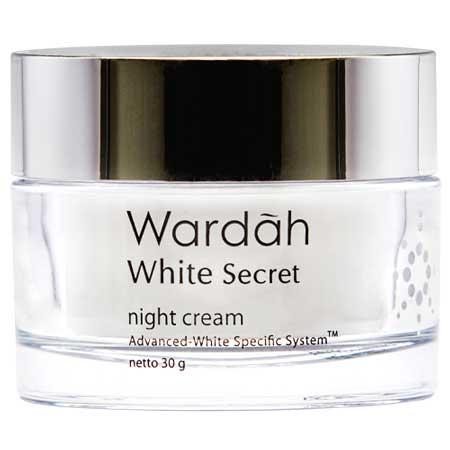 Produk Kosmetik Wardah Lengkap Dengan Harganya - Wardah White Secret Night Cream