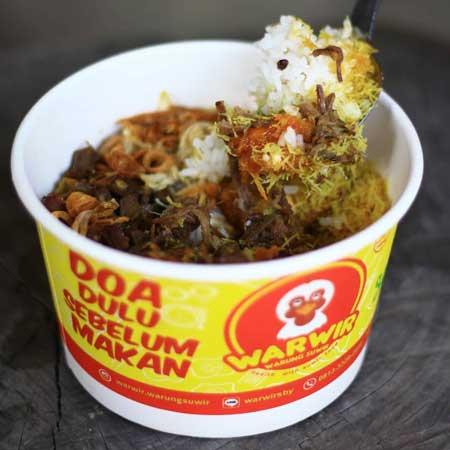 Rekomendasi Rice Bowl Paling Enak Di Surabaya - Warwir