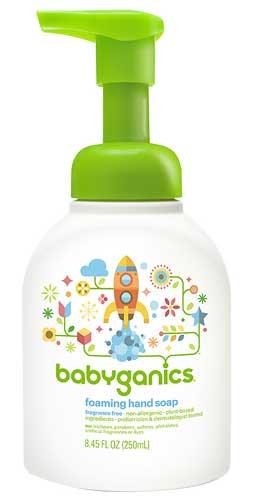 Sabun Cuci Tangan Yang Bagus - Babyganics Foaming Hand Soap
