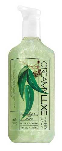 Sabun Cuci Tangan Yang Bagus - Bath & Body Works Eucalyptus Mint Creamy Luxe Hand Soap