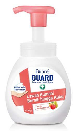 Sabun Cuci Tangan Yang Bagus - Biore Guard Foaming Hand Soap Fruity Antibacterial