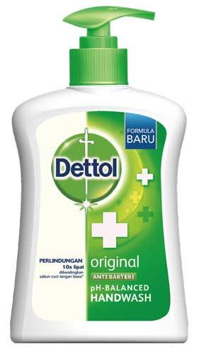 Sabun Cuci Tangan Yang Bagus - Dettol Anti Bakteri pH Balanced Handwash