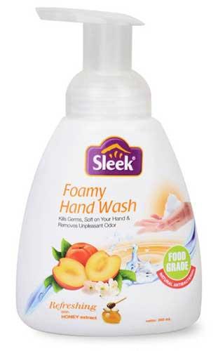 Sabun Cuci Tangan Yang Bagus - Sleek Foamy Handwash