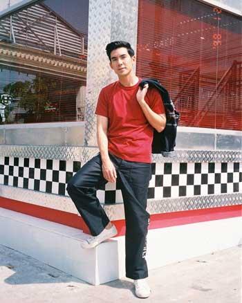 Aktor Thailand Paling Ganteng - Chantavit Dhanasevi