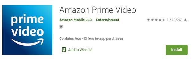 Aplikasi Streaming Film Terbaik Buat Nonton Film Online - Amazon Prime Video