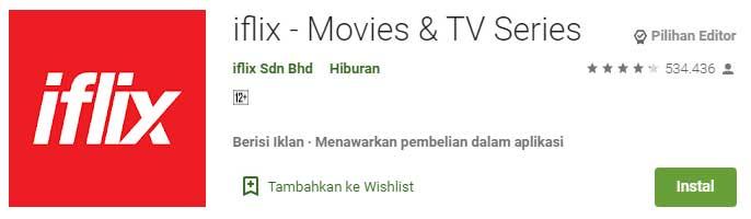 Aplikasi Streaming Film Terbaik Buat Nonton Film Online - Iflix