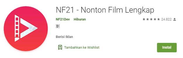 Aplikasi Streaming Film Terbaik Buat Nonton Film Online - NF21