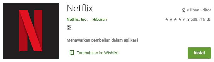 Aplikasi Streaming Film Terbaik Buat Nonton Film Online - Netflix