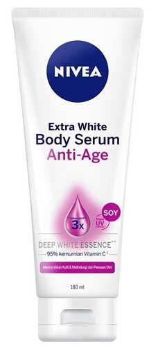 Body Lotion Nivea Yang Bagus - Nivea Extra White Body Serum Anti-Age