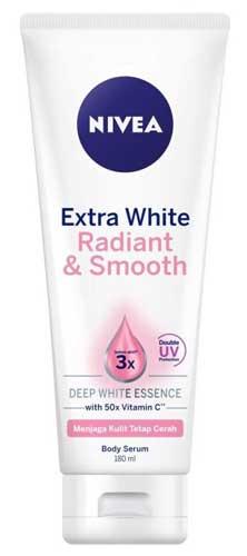 Body Lotion Nivea Yang Bagus - Nivea Extra White Radiant & Smooth Lotion