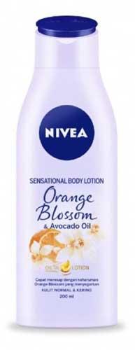 Body Lotion Nivea Yang Bagus - Nivea Sensational Body Lotion Orange Blossom & Avocado Oil