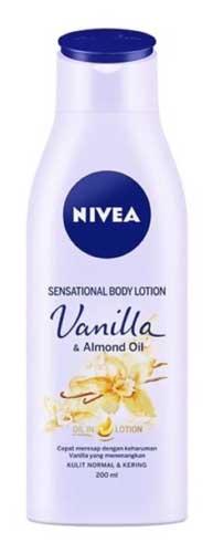 Body Lotion Nivea Yang Bagus - Nivea Sensational Body Lotion Vanilla & Almond Oil
