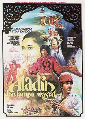 Daftar Film Rano Karno Terbaik - Aladin dan Lampu Wasiat (1980)