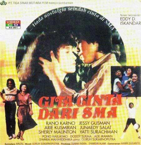 Daftar Film Rano Karno Terbaik - Gita Cinta Dari SMA (1979)