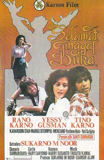Daftar Film Rano Karno Terbaik - Selamat Tinggal Duka (1980)