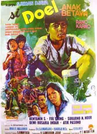 Daftar Film Rano Karno Terbaik - Si Doel Anak Betawi (1973)