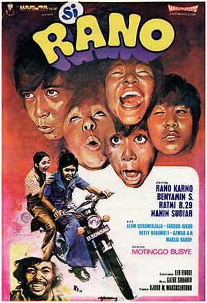 Daftar Film Rano Karno Terbaik - Si Rano (1973)