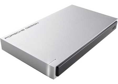 Hardisk Eksternal Terbaik - LaCie Porsche Design Mobile Drive Hard Disk 2 TB