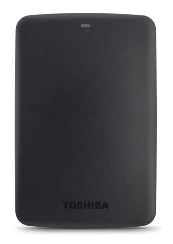 Hardisk Eksternal Terbaik - Toshiba Canvio Basic 1TB