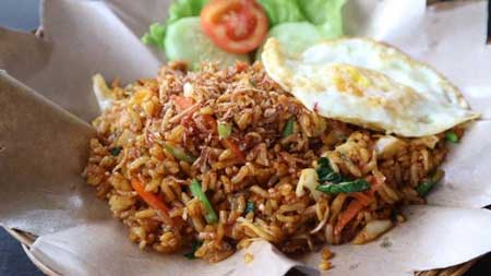 Jenis Nasi Goreng Yang Ada di Indonesia - Nasi Goreng Satelit