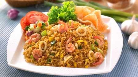 Jenis Nasi Goreng Yang Ada di Indonesia - Nasi Goreng Seafood