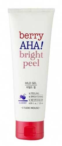 Merk Peeling Gel Terbaik - Etude House Berry AHA Bright Peel Mild Gel